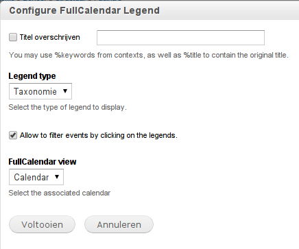 Allow to show/hide events by clicking on the legends [#1880252