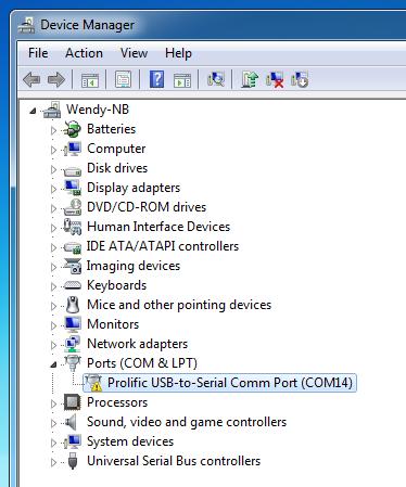 Masalah pada modem Wavecom di Windows 8