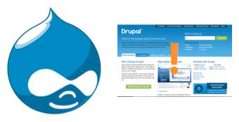 Druplicon next to Drupal.org screenshot