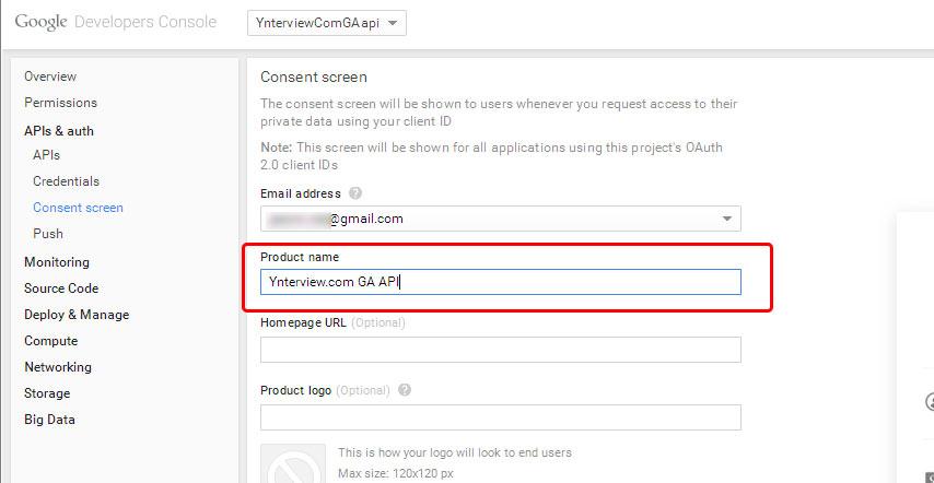 Google Analytics Counter: get