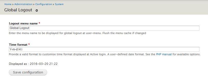 active login info
