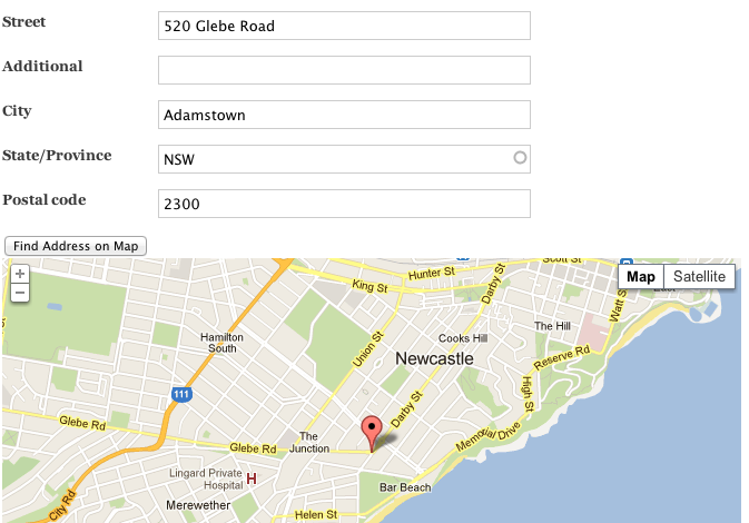 Find Address On Map Button Drupalorg - Find location of phone number on map