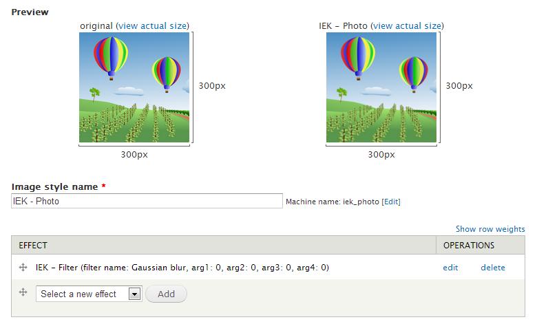 Filter effect | Drupal org