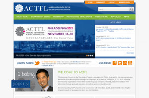 ACTFL Multi-System Integration Homepage