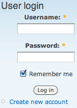 Remember me login