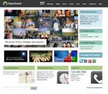 OpenChurch Homepage