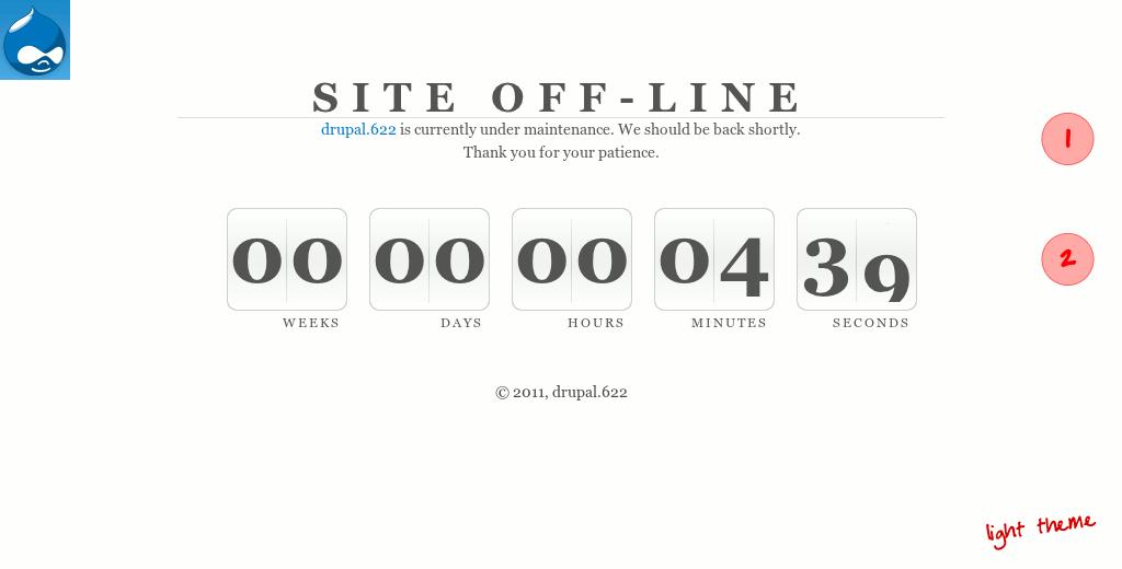 Maintenance Countdown   Drupal org