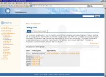 screenshot Drupal 4.5.0