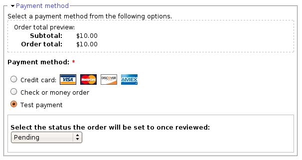 UC Test Payment | Drupal.org