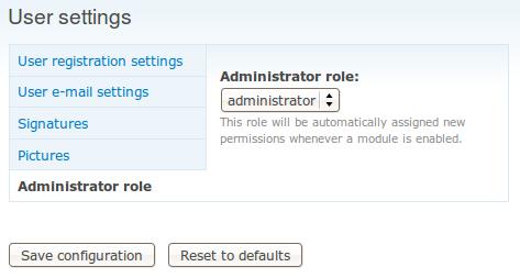 Admin Role