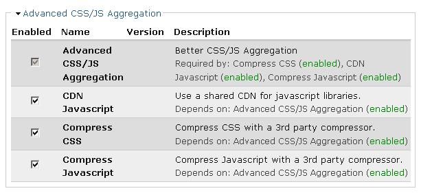 Advanced CSS/JS Aggregation