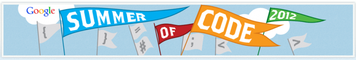 Google Summer of Code 2012 banner