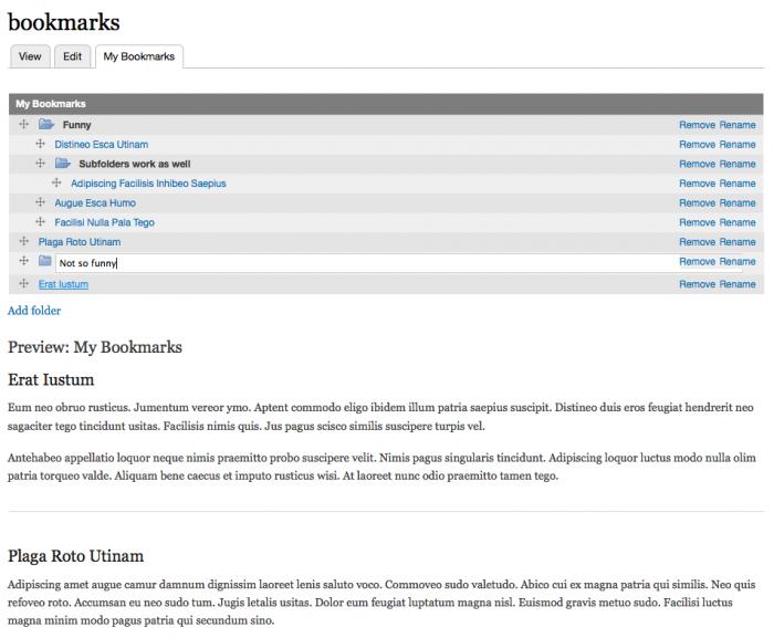 Bookmark Organizer