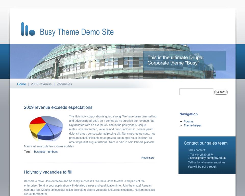 drupal themes free 7