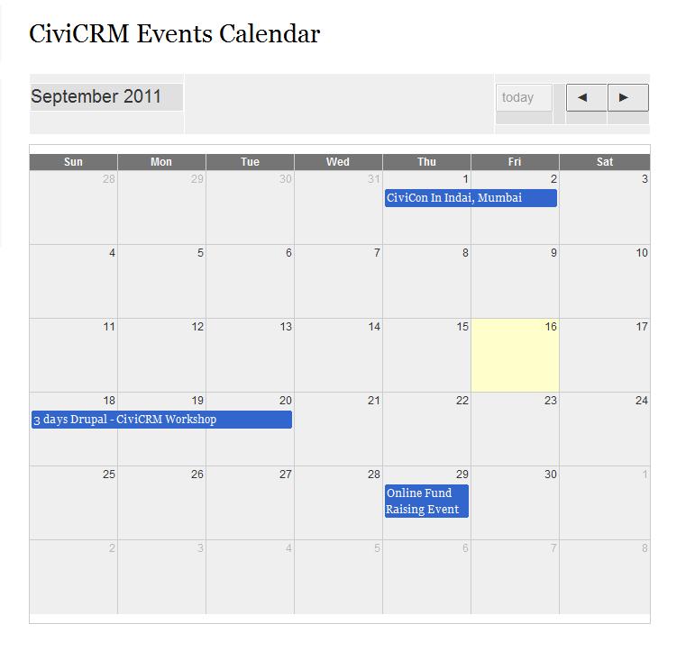 Civicrm events calendar drupal events calendar saigontimesfo