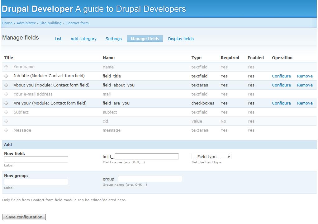Cck multifield help | drupal. Org.
