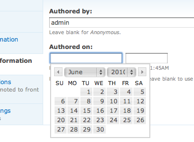 Date Popup Autd In Action