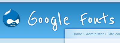 Google Fonts API example