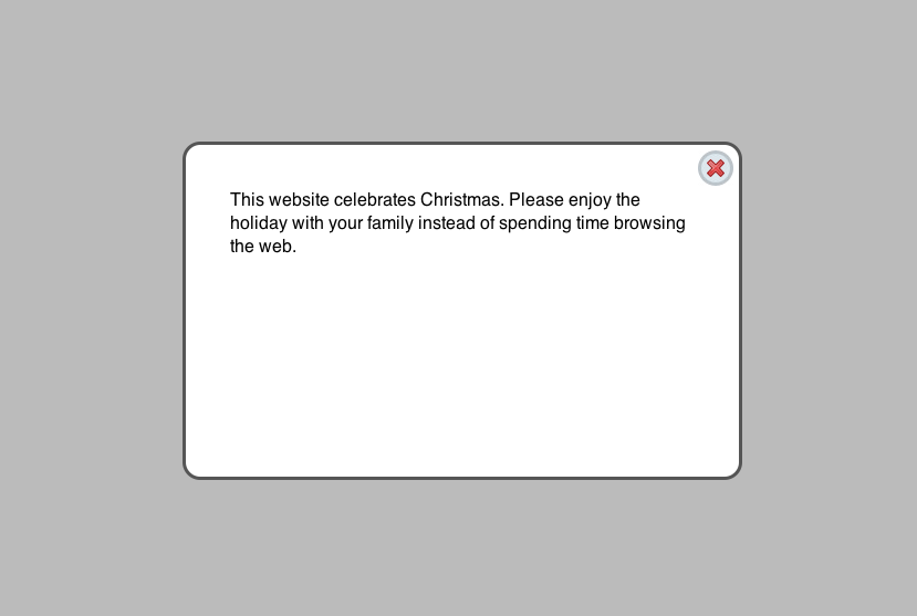 Holiday overlay drupal holiday overlay example christmas m4hsunfo