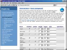 screenshot Drupal 4.2.0