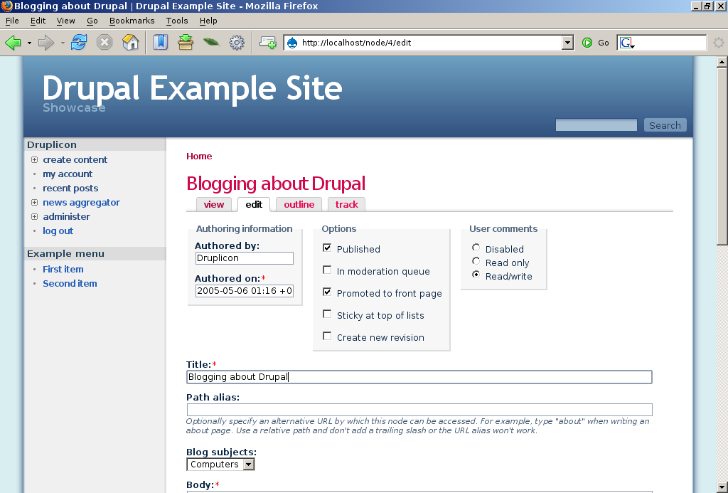 node edit hook drupal Wysiwyg editors in drupal 7: conflicts & solutions in order to add a text editor to a drupal collaborate on a given drupal node where a text editor is.