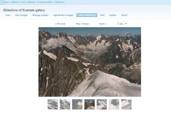 Node Gallery Slideshow