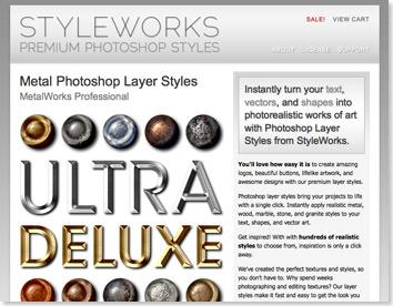 StyleWorks - Premium Photoshop Styles