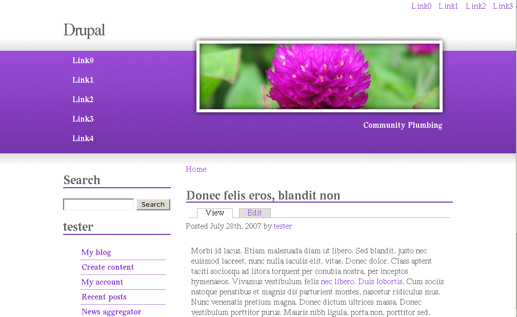 Spring Bloom | Drupal org