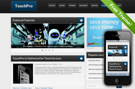 TouchPro | Drupal.org
