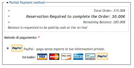 UC Partial Payment Pane