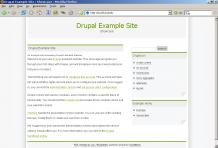 screenshot Drupal 4.6.0