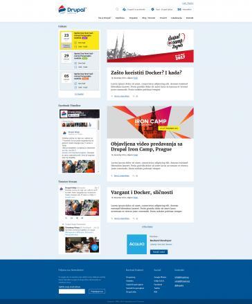 Drupal.rs - Index page