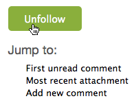 Issue follow UI step 3: Unfollow