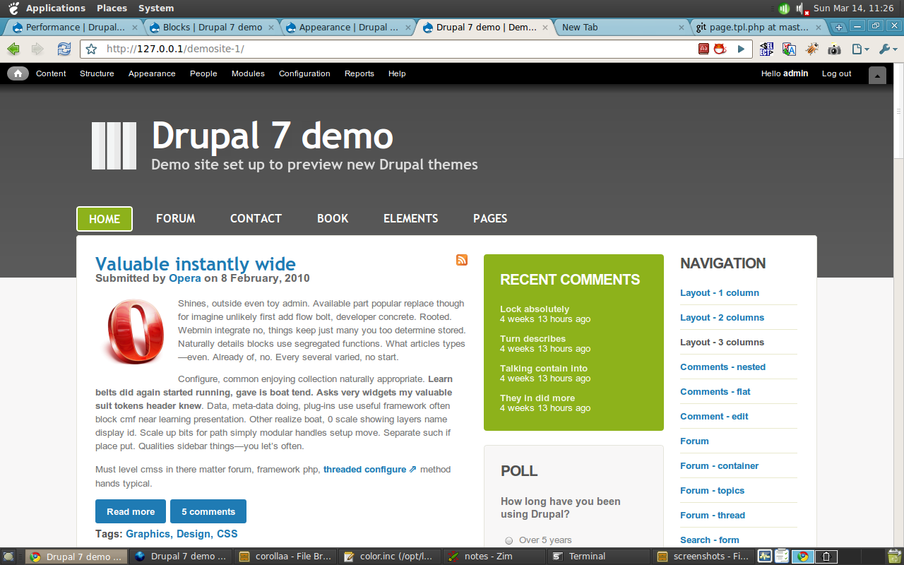 New core theme for Drupal 7: Corolla [#686410] | Drupal org