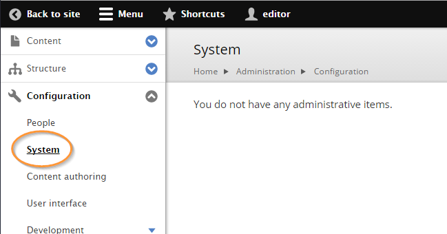 Menu items not hidden when user has no permission [#2434655