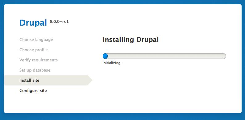 UnmetDependenciesException when installing Drupal 8
