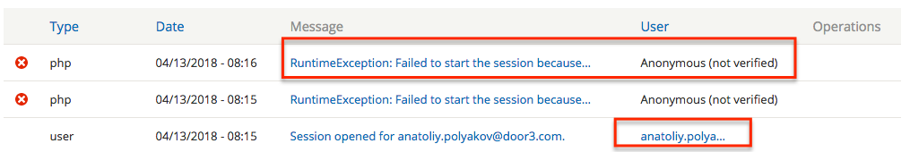 Failed to start the session because headers have already been sent