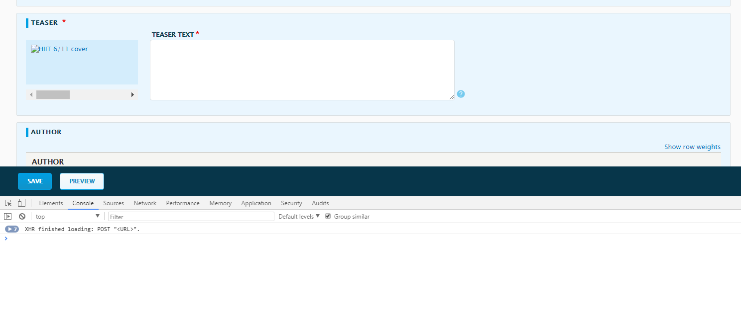 Image preview / thumb not showing in Drupal 8 [#2978552