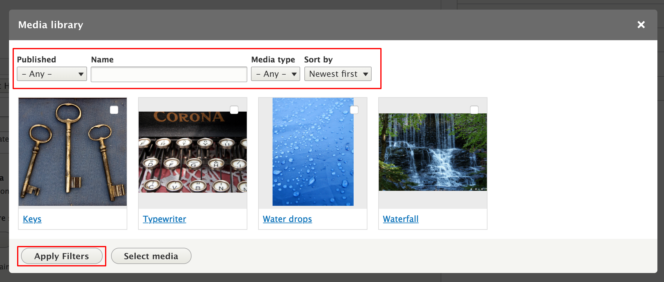 Create a field widget for the Media library module [#2962525