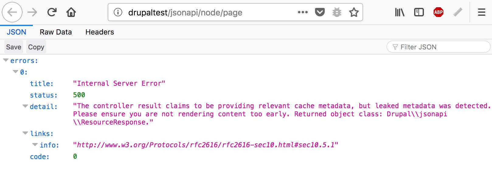 Access Denied 404 instead of Internal Server Error 500 [#2989316