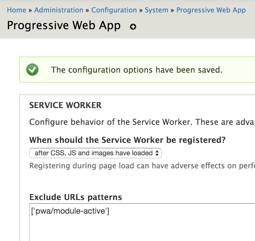 Service worker fails to register due to JS error