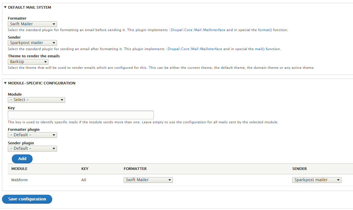 Swift Mailer not rendering HTML & Theme [#3005843] | Drupal org