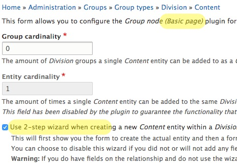 2-step wizard + group node with menu item crashes [#3006130