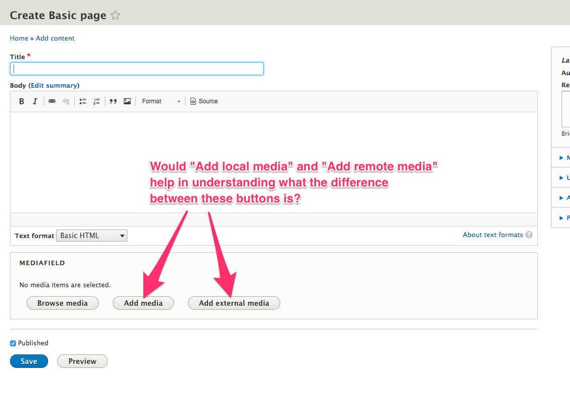 Add oEmbed support to the media library [#2996029] | Drupal org