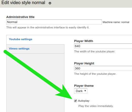 Autoplay not working for Youtube videos [#3014464] | Drupal org