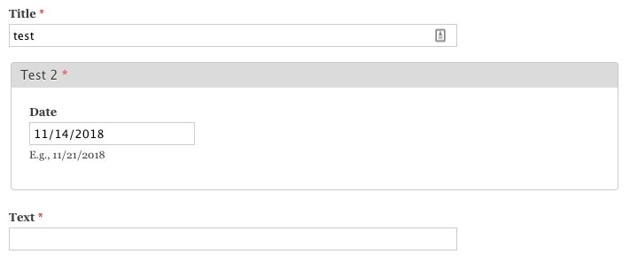Required Date popup field not showing red asterisk  [#1257024