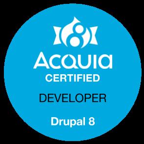 Acquia Certification badge [#2276569] | Drupal org