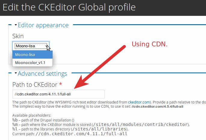 Ckeditor 5 Config