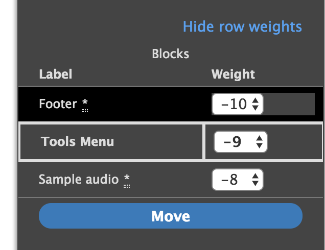 Allow reordering blocks without a pointer device [#2995689