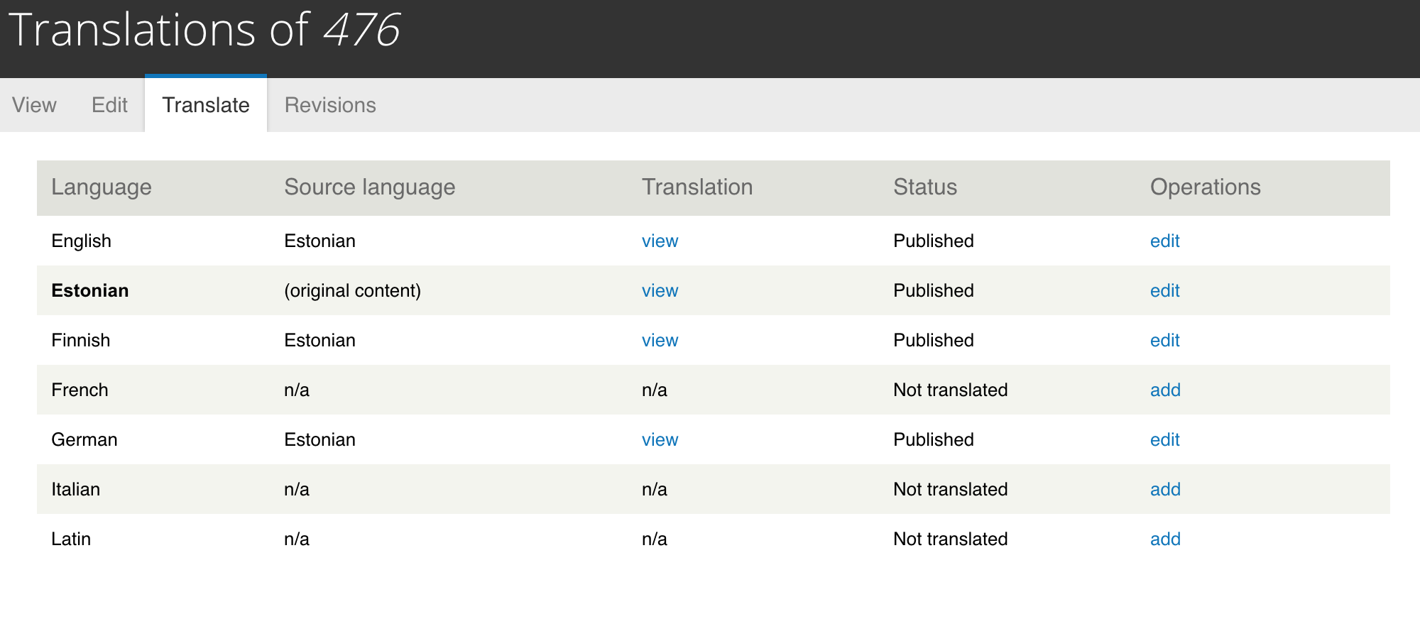 Can't get entity translation migration working in D8